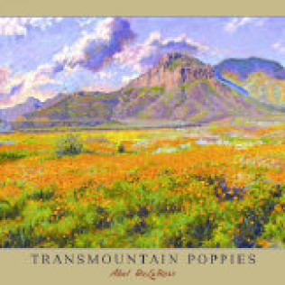 Transmountain Poppies Print 16 x 20